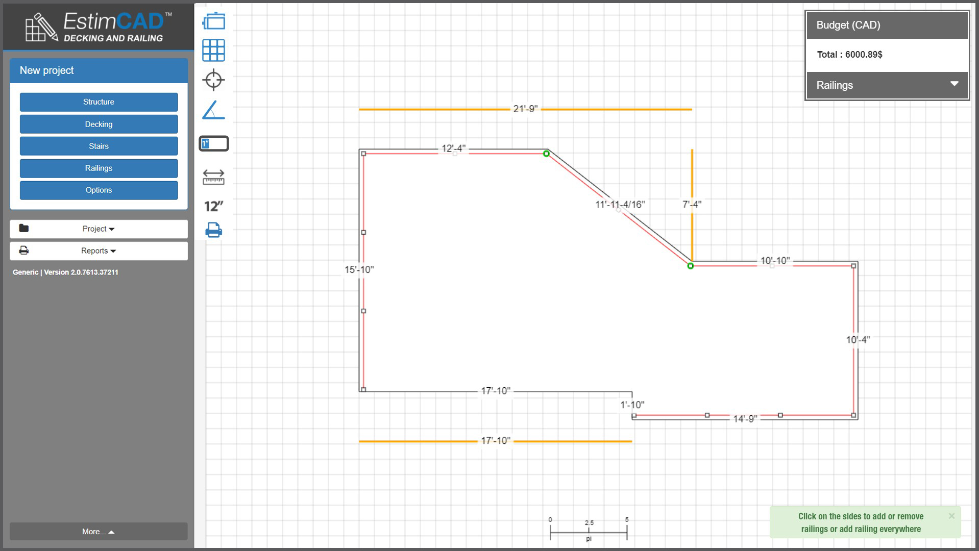 EstimCAD Screenshot